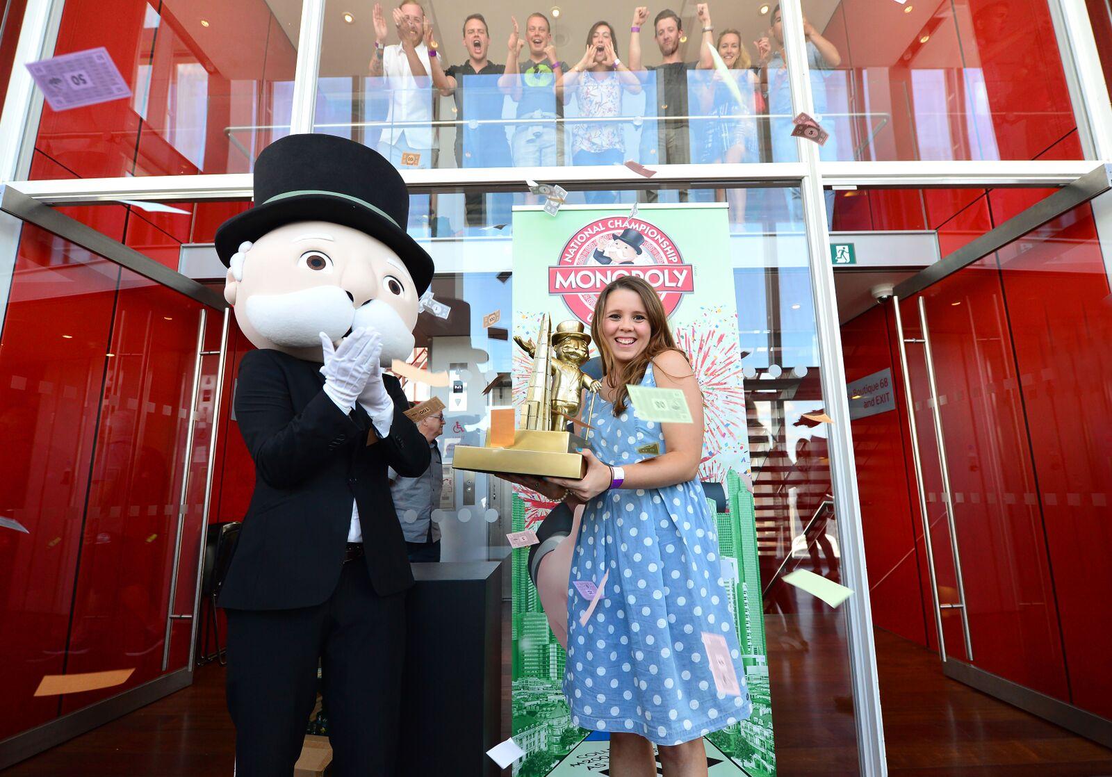 Natalie Fitzsimons Monopoly UK Ireland Champion