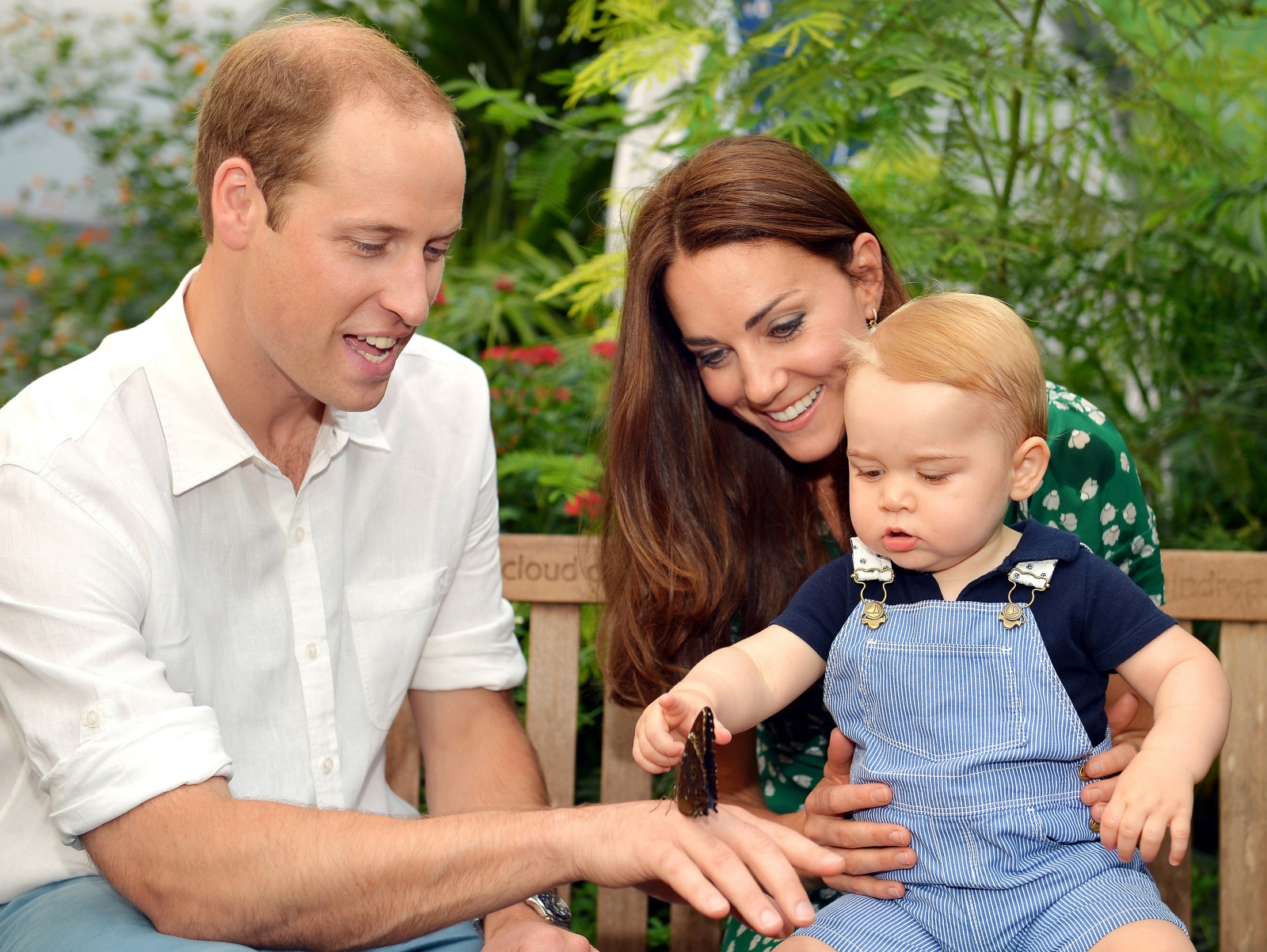 Prince William, Kate Middleton and Prince George
