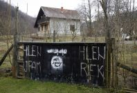 Village in Bosnia hosted Isis fighters