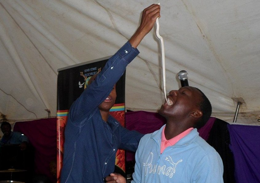 South Africa Preacher Who Fed Live Snakes To Worshippers