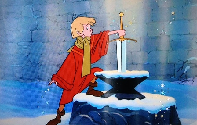Wart/Arthur in The Sword In The Stone