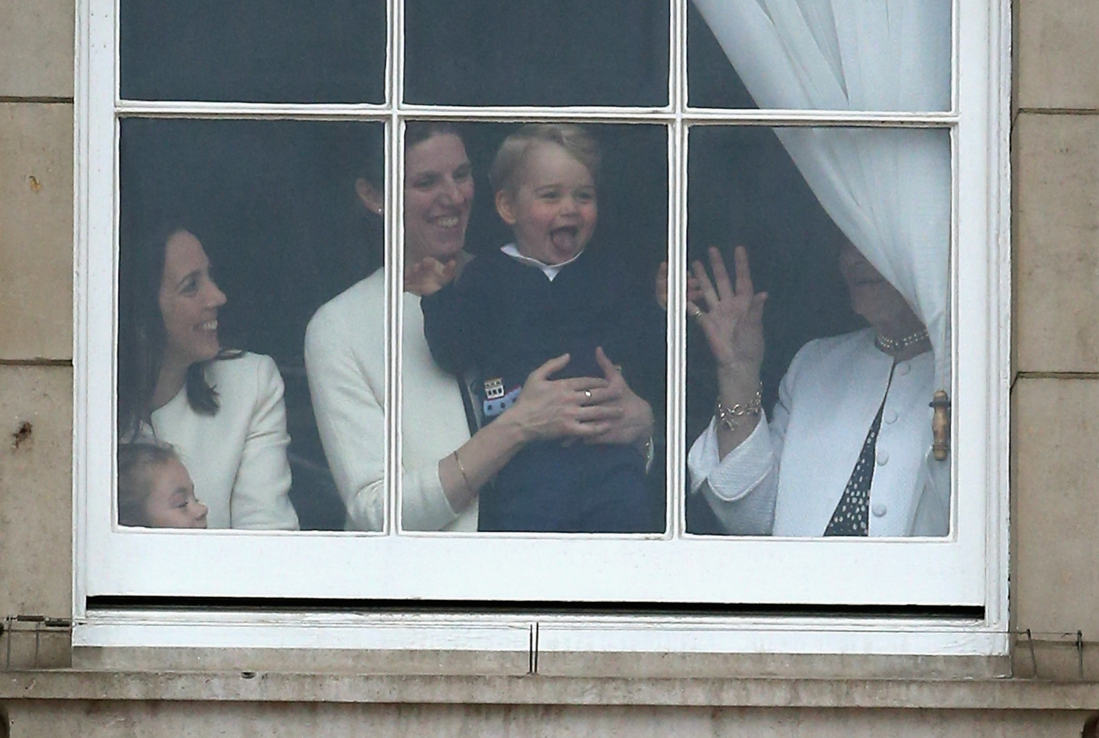 Prince George at Trooping the Colour 2015