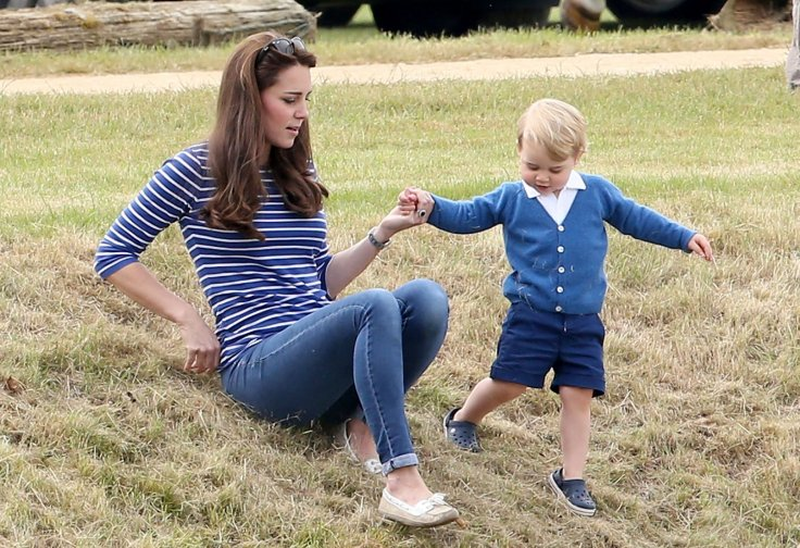 Kate Middleton and Prince George
