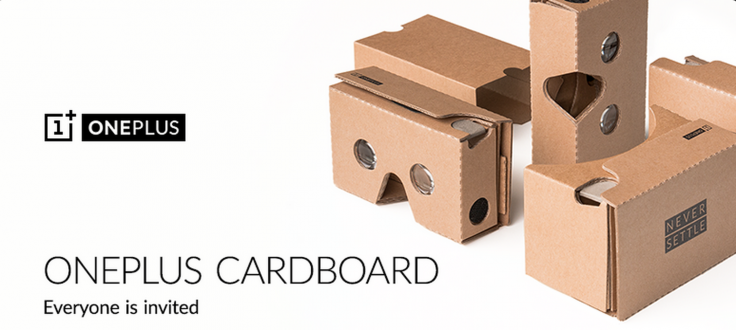 OnePlus 2 VR launch with Cardboard