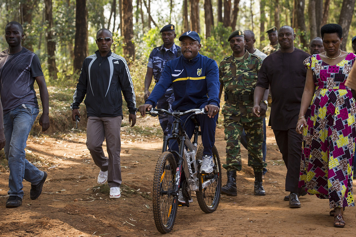 Image result for Cycling: Nkurunziza pedals off Tour du Burundi