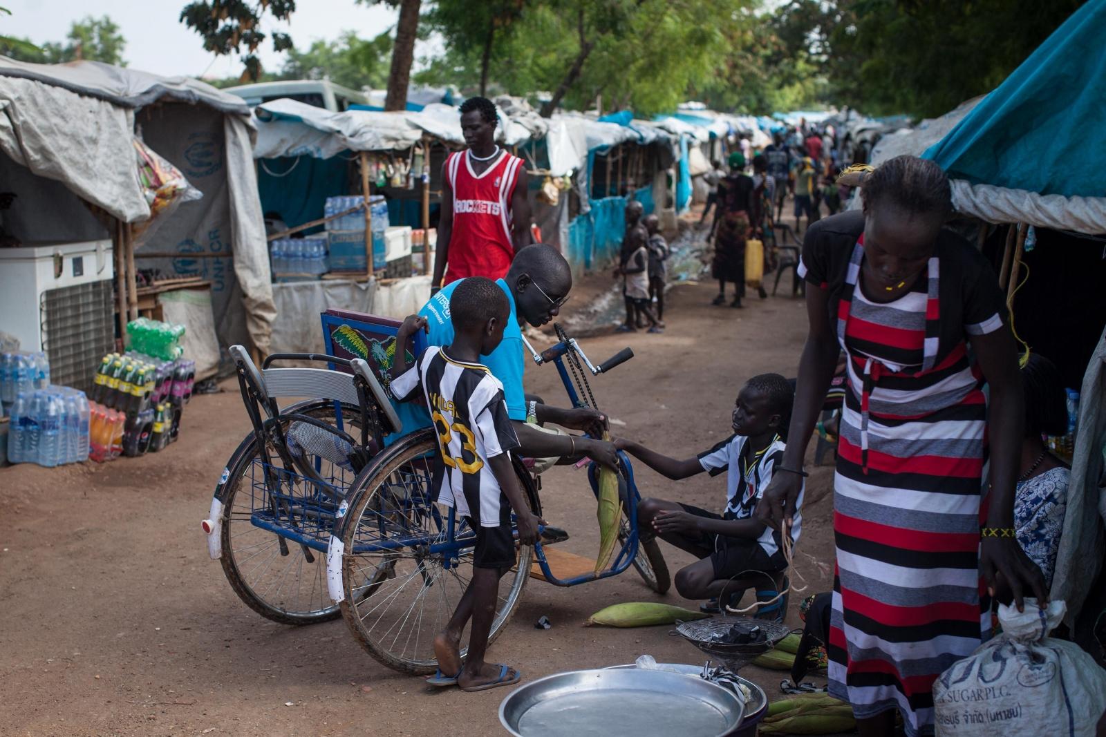 Juba refugee camp