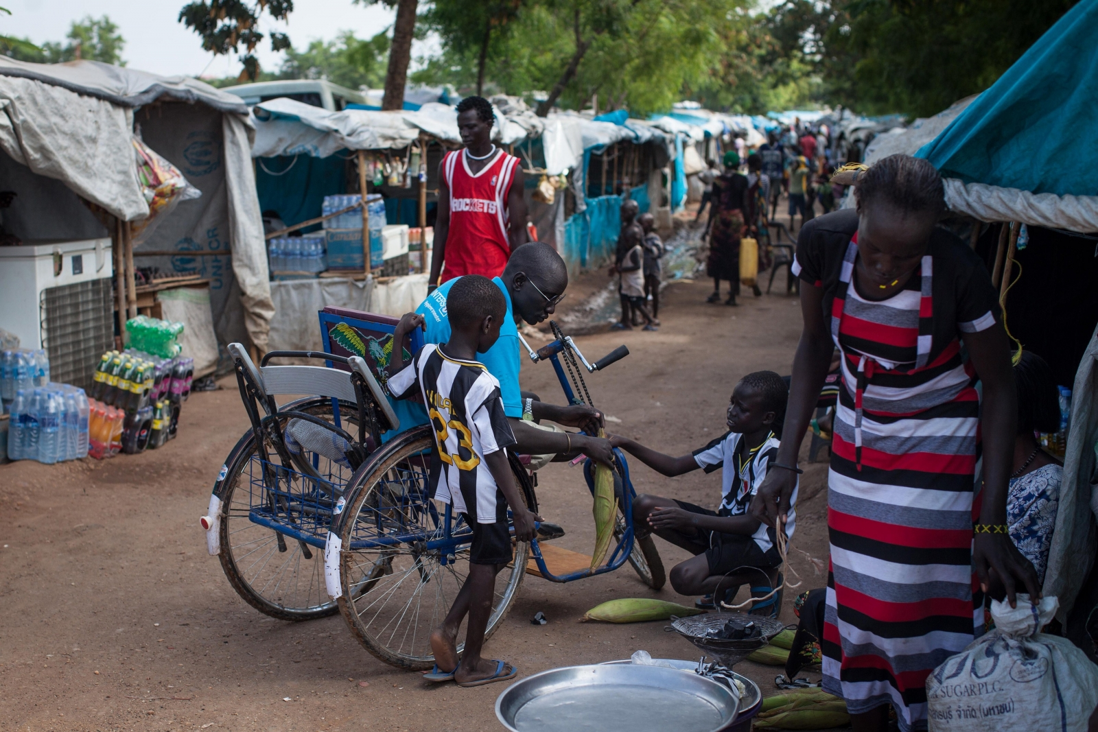 Juba refugee camp