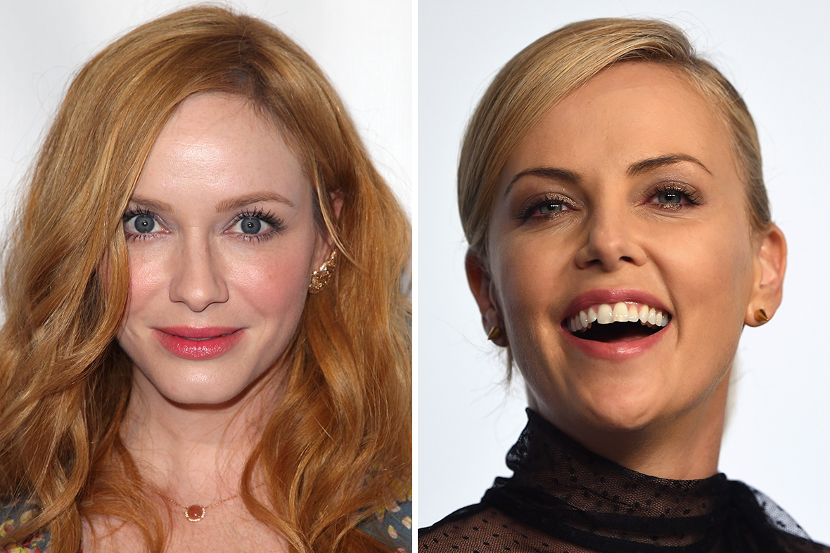 Christina Hendricks Charlize Theron