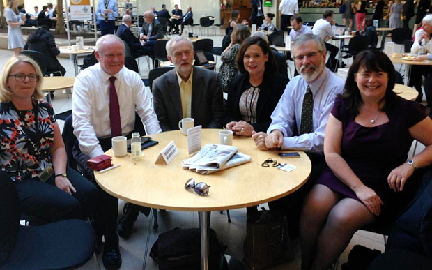 Corbyn Adams McGuinness Parliament