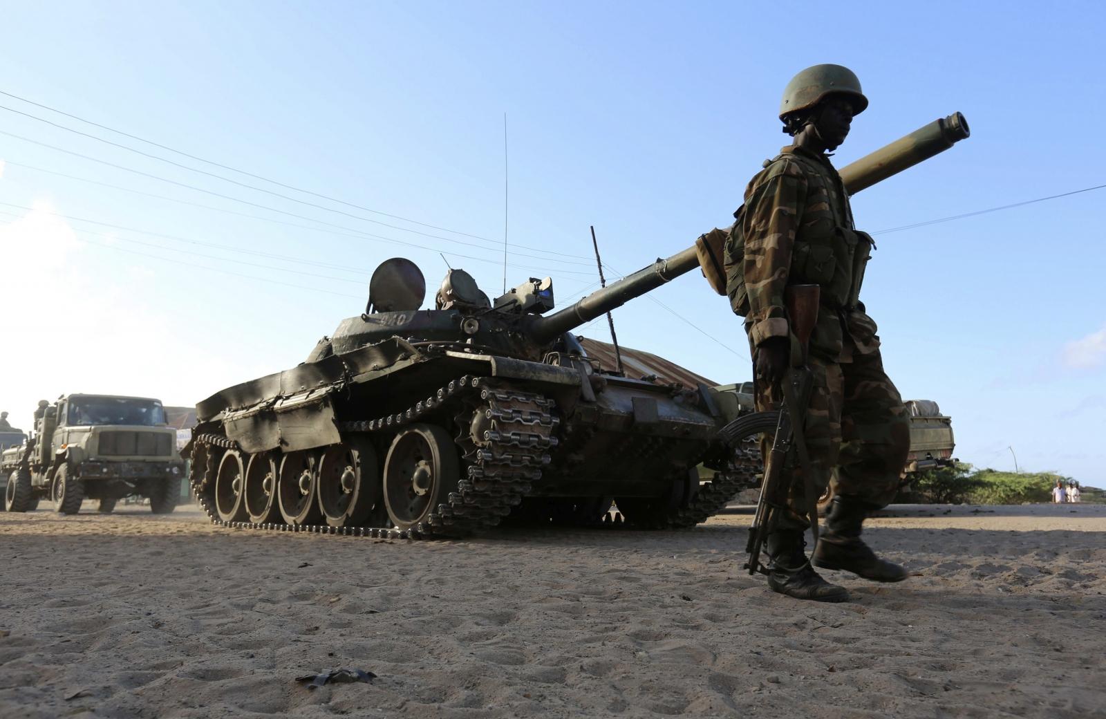 AU troops Africa