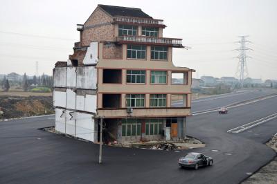 nail house China