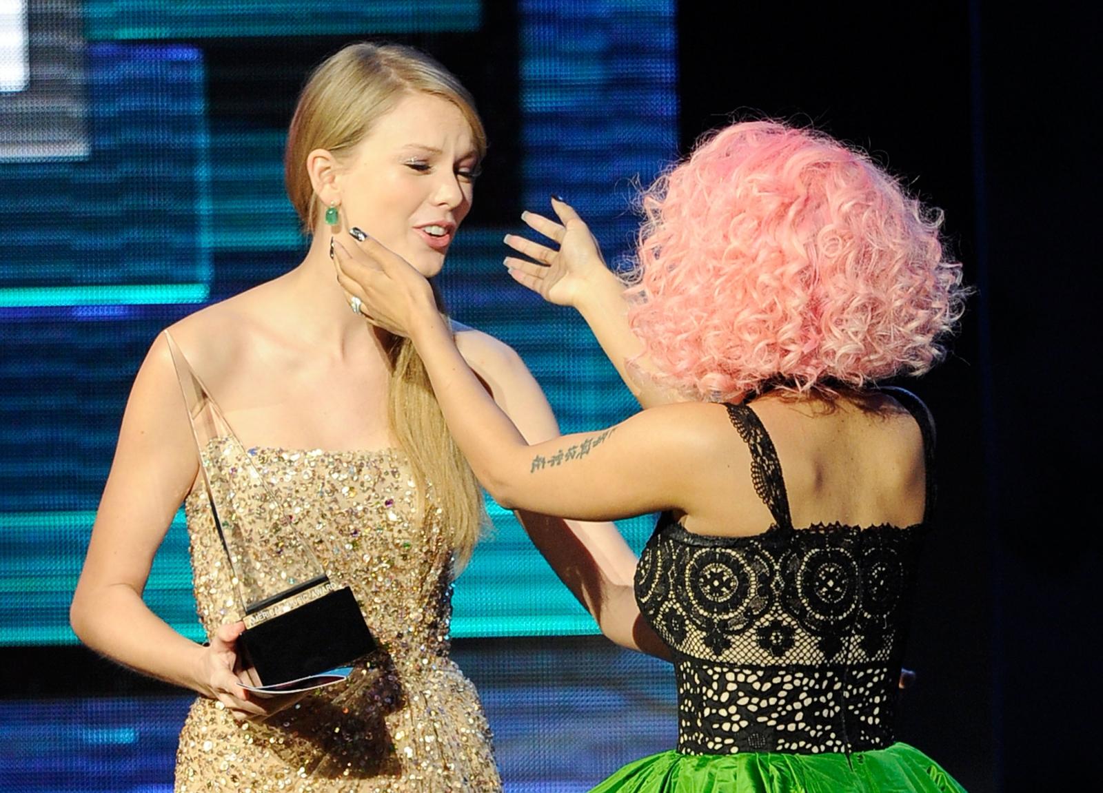 Taylor Swift and Nicki Minaj