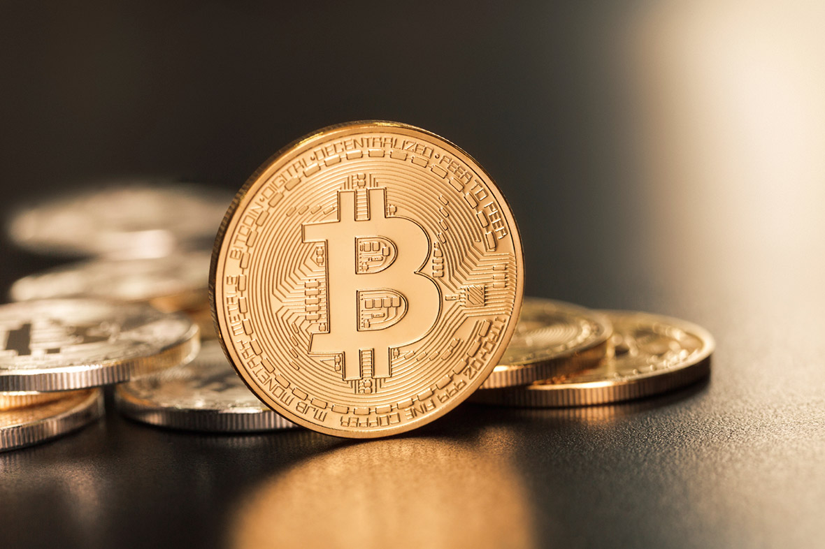 bitcoin pile