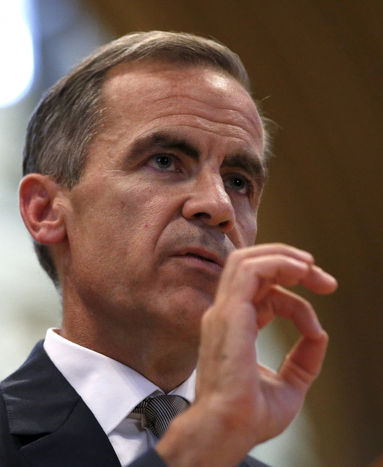 Governer of the Bank of England, MarkCarney