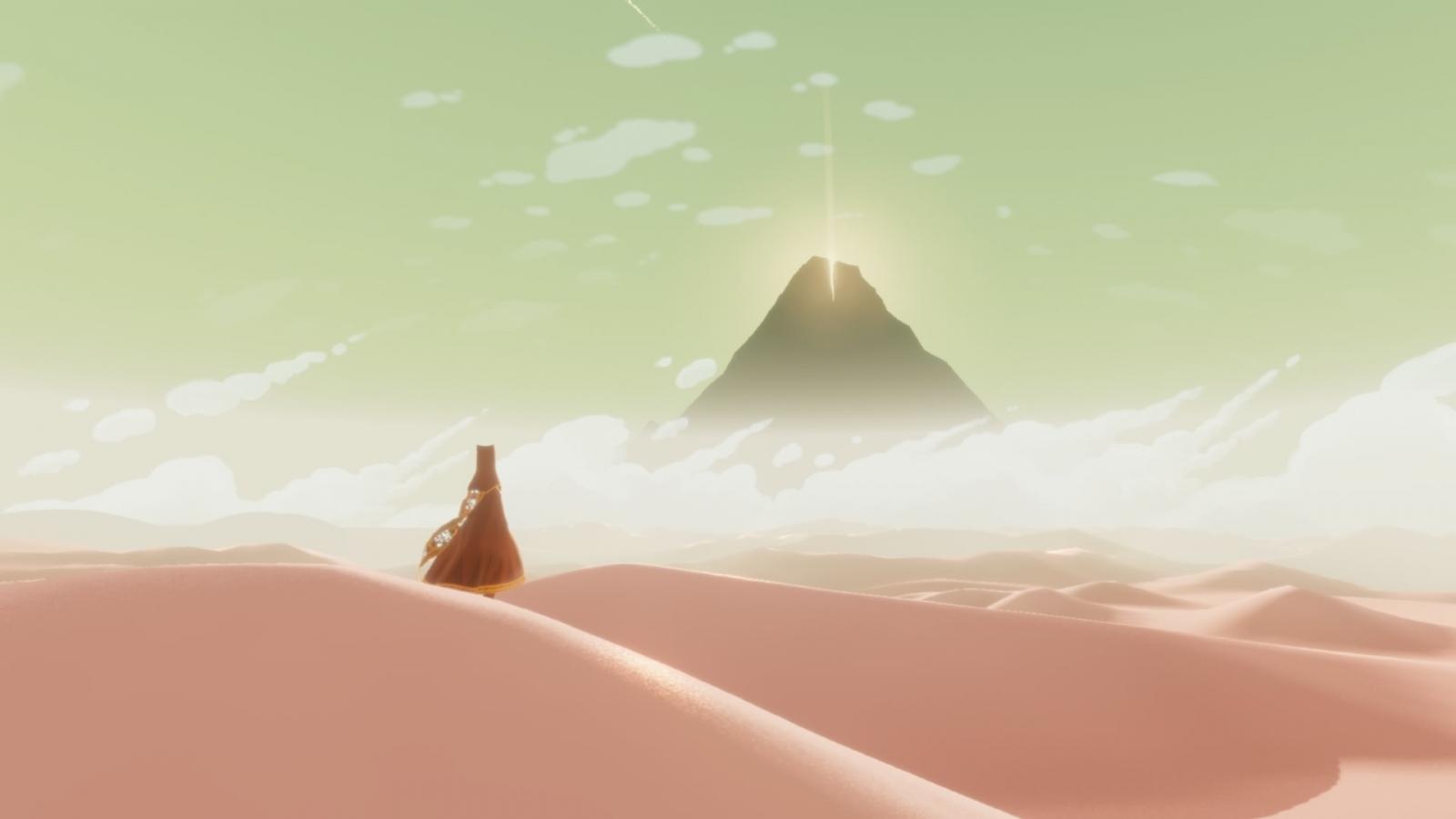 Journey PS4 screenshot