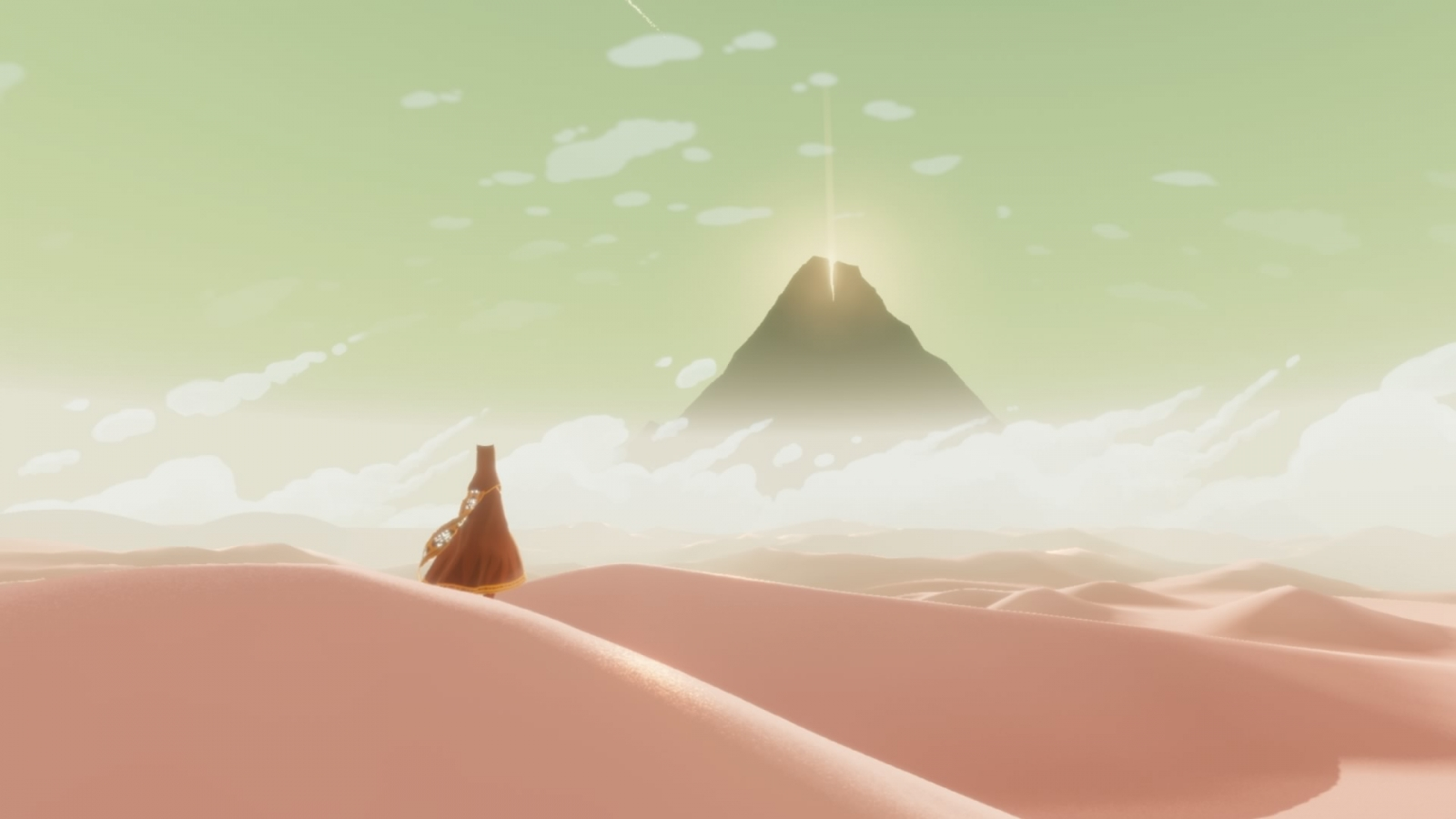 Journey PS4 screenshot