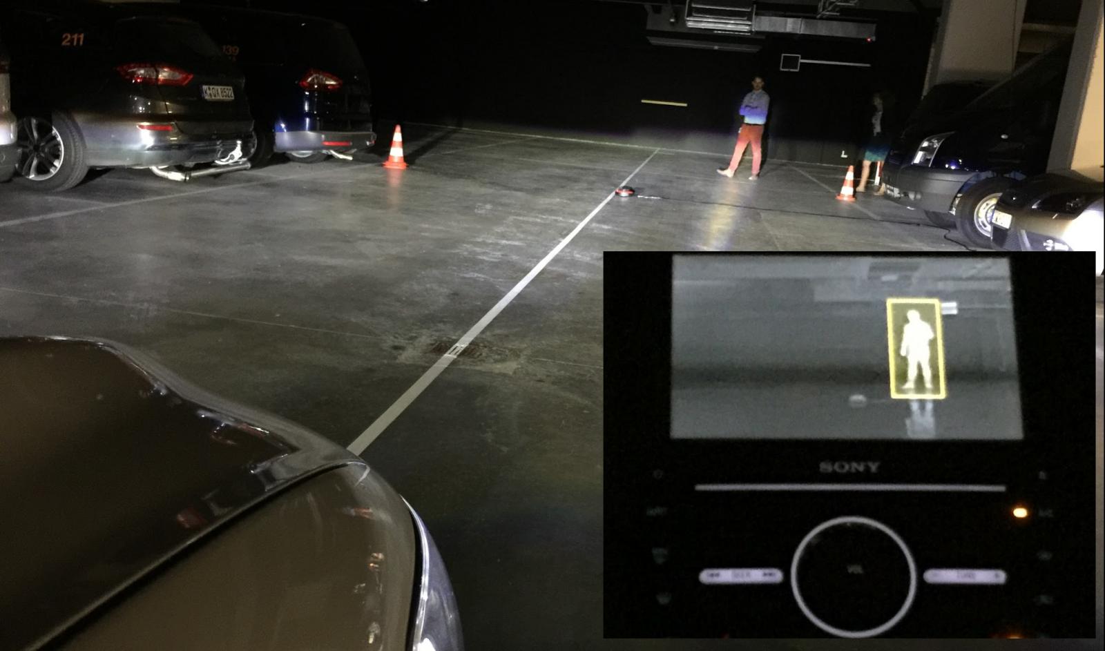 Ford intelligent lighting system