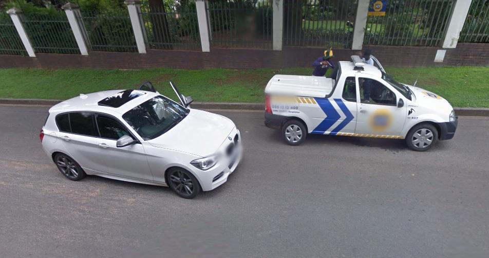 Google Street View carjacking