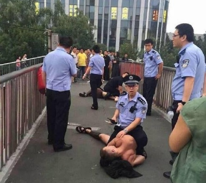 Beijing 300 Spartans arrested