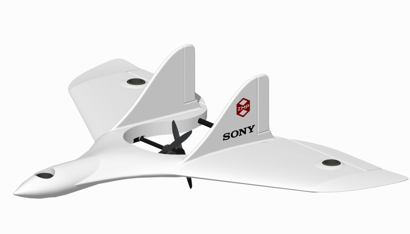 Sony and ZMP's proposed drone for enterprises