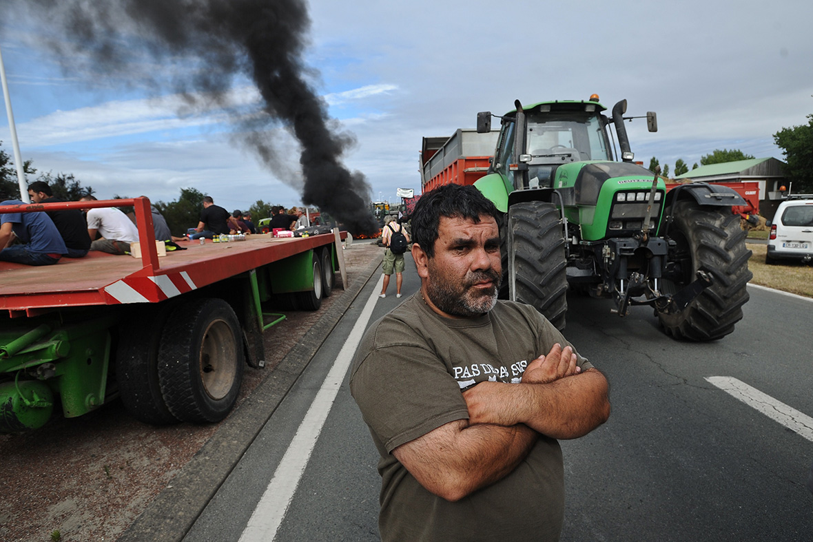 france farmers protest