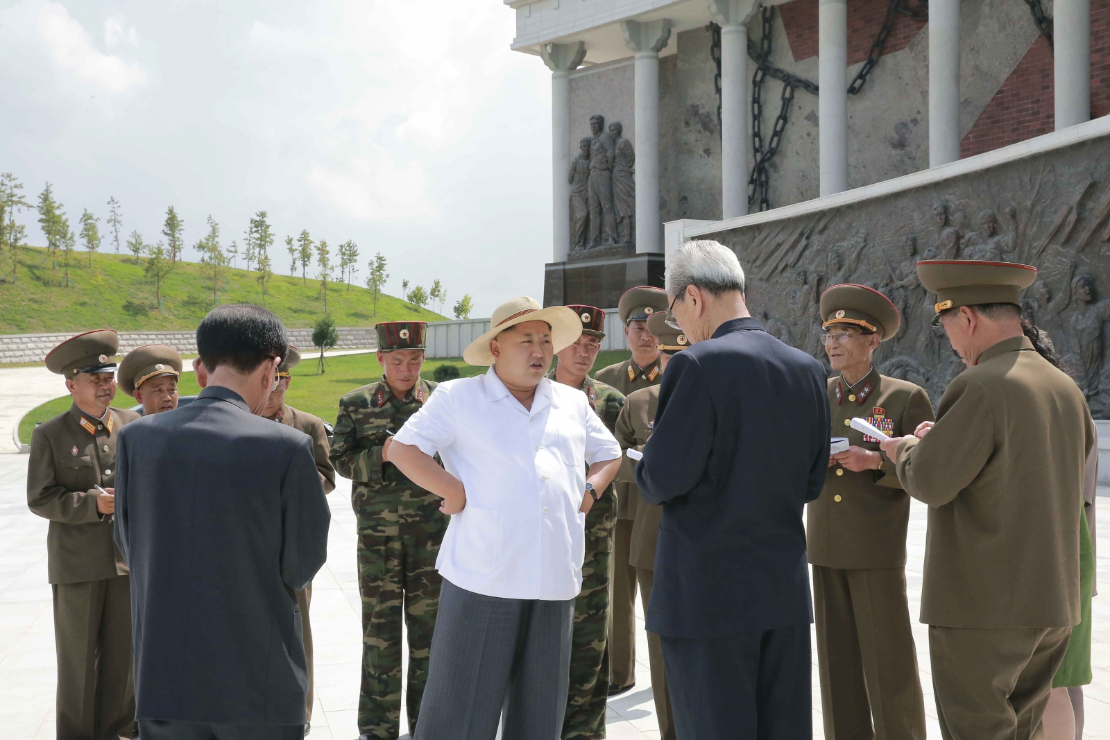 North Korea summer heat