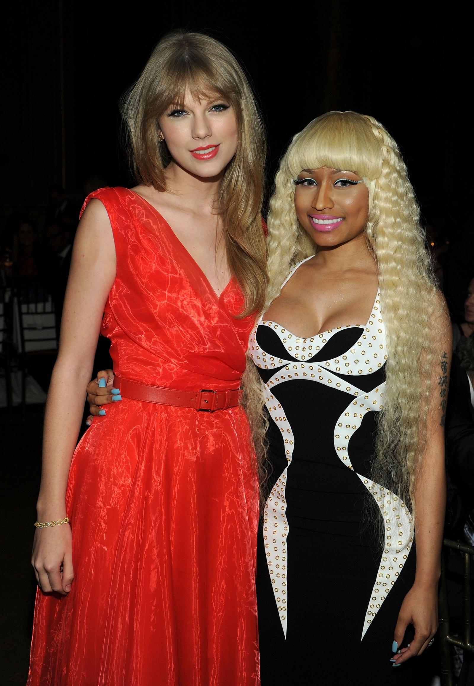 Taylor Swift and Nicki Minaj feud