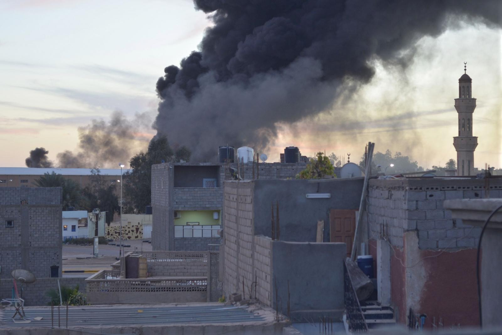 Sabha south Libya