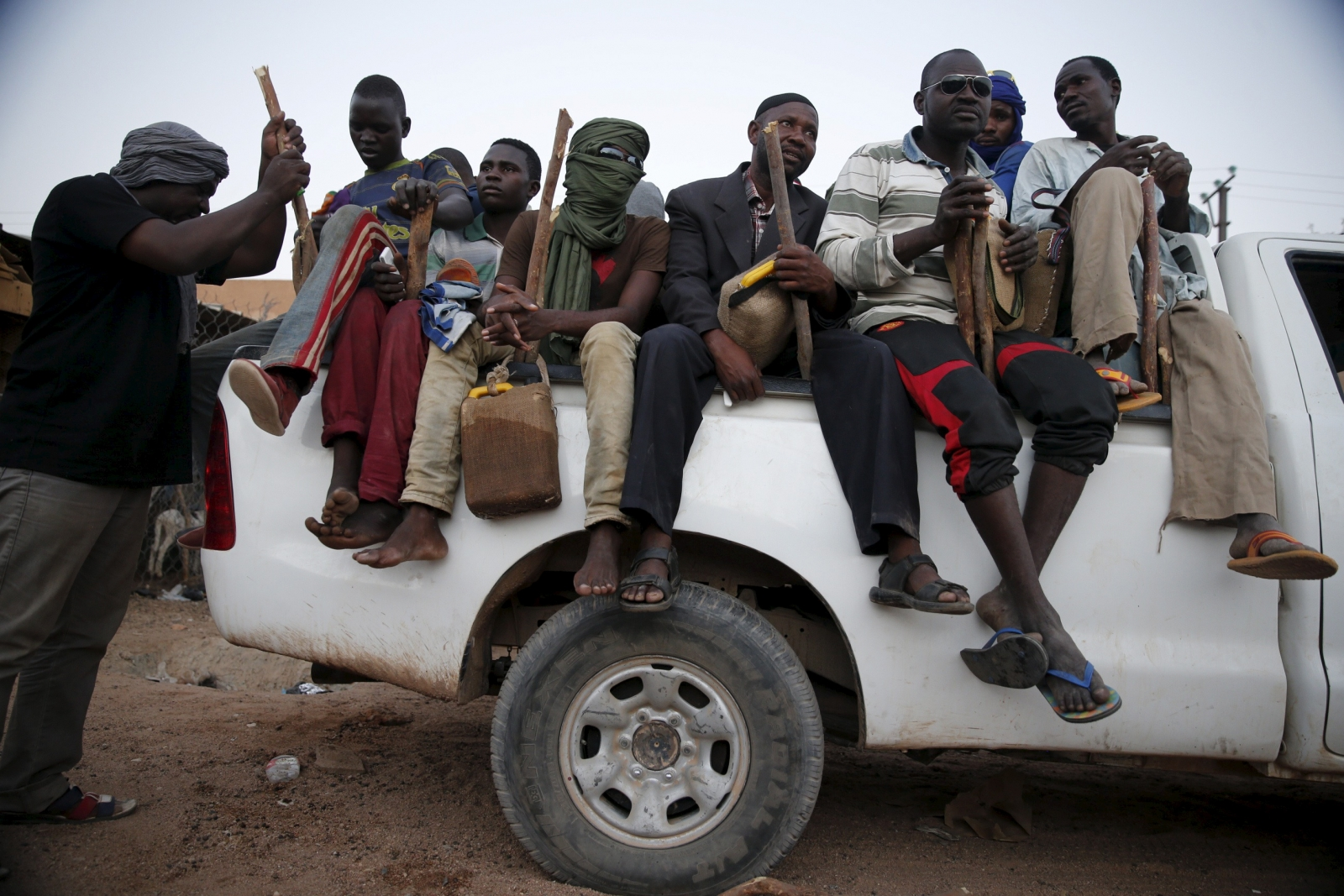 Africans migrants trafficking Libya Agadez Niger