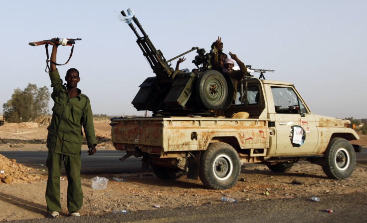 Tebu fighter Sabha Gaddafi