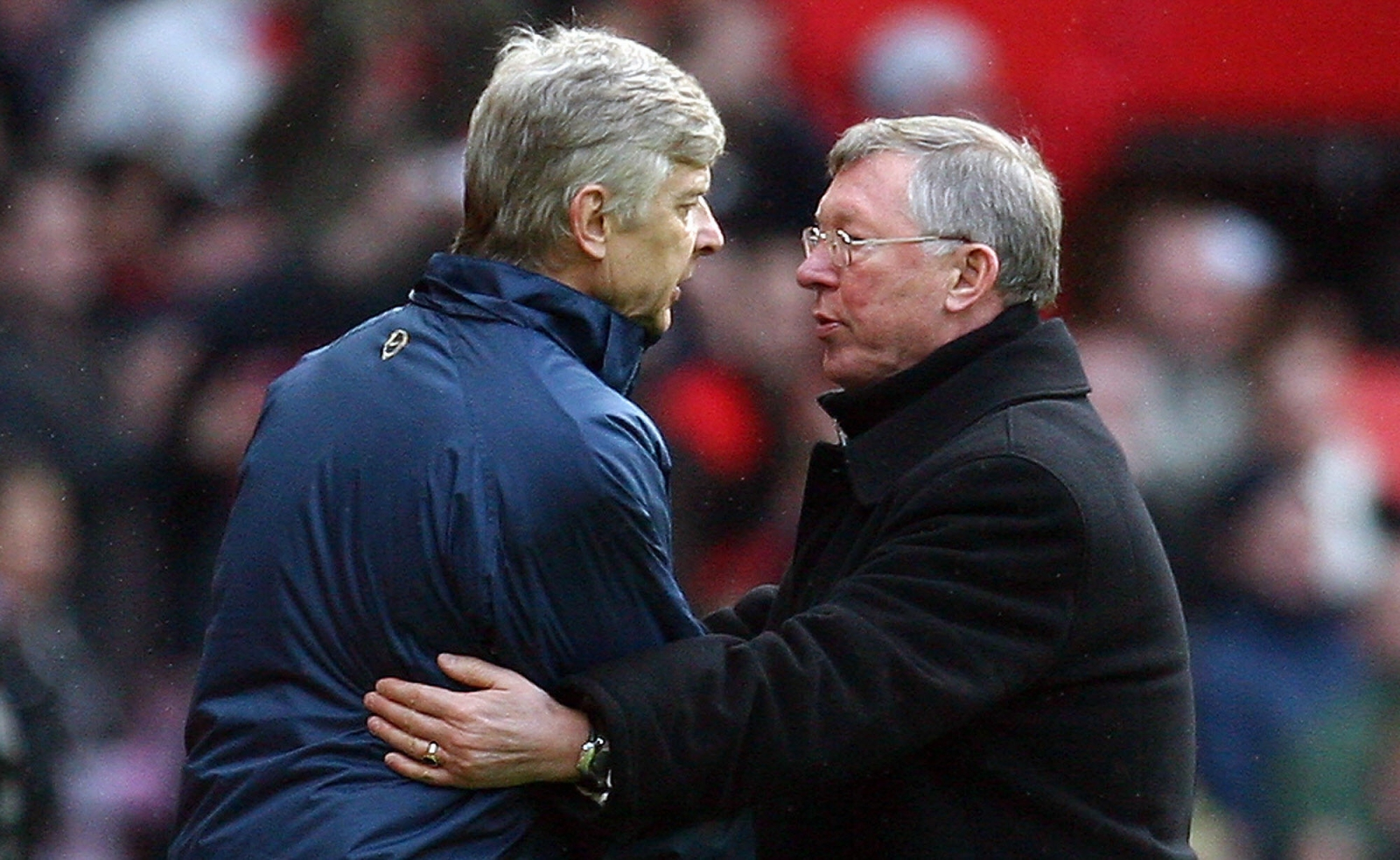 Arsene Wenger Sir Alex Ferguson