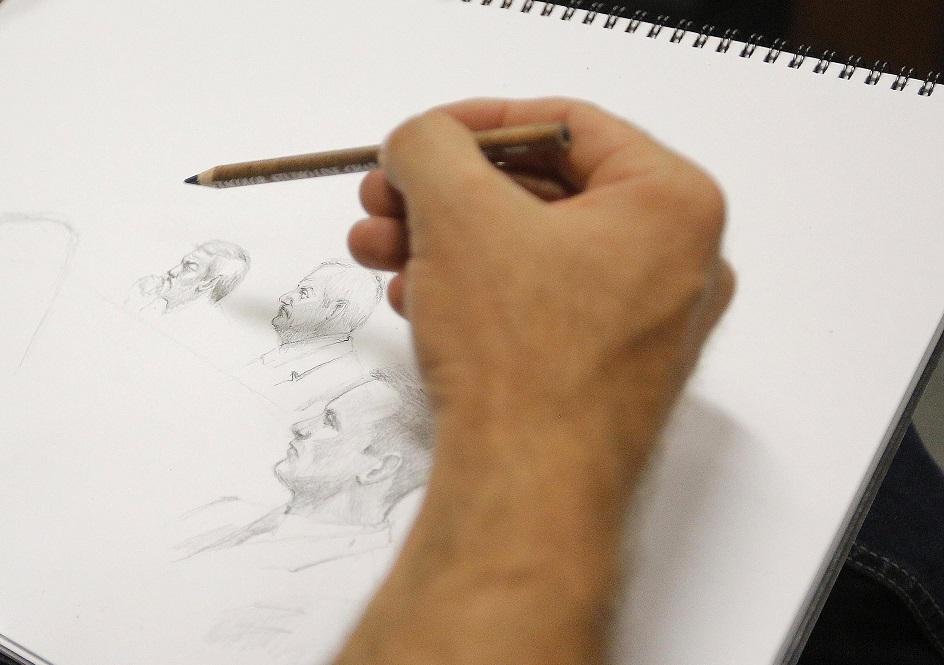 Court sketch artist