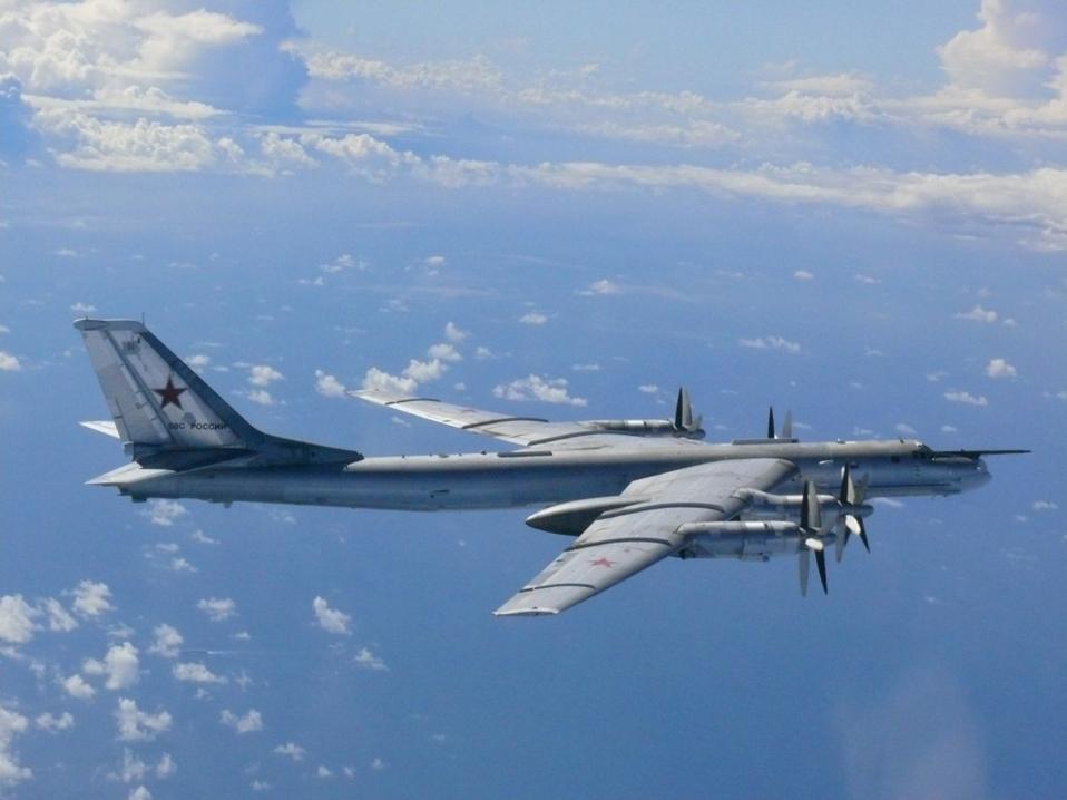 Russian bomber Tu-95