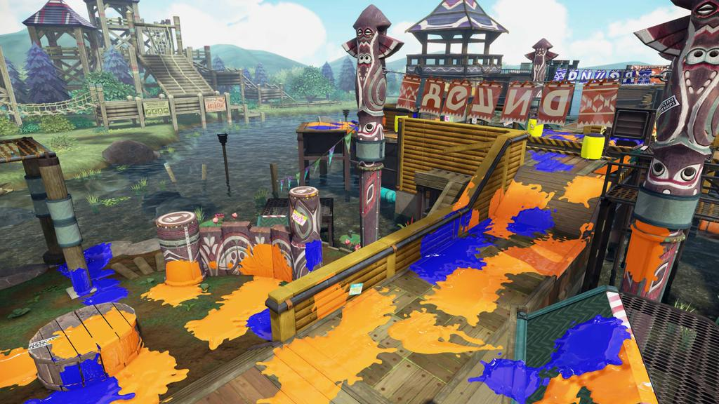 Splatoon Camp Triggerfish