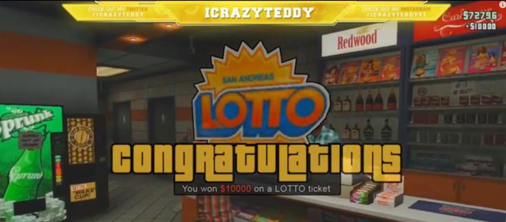 GTA 5 Online: Lottery DLC