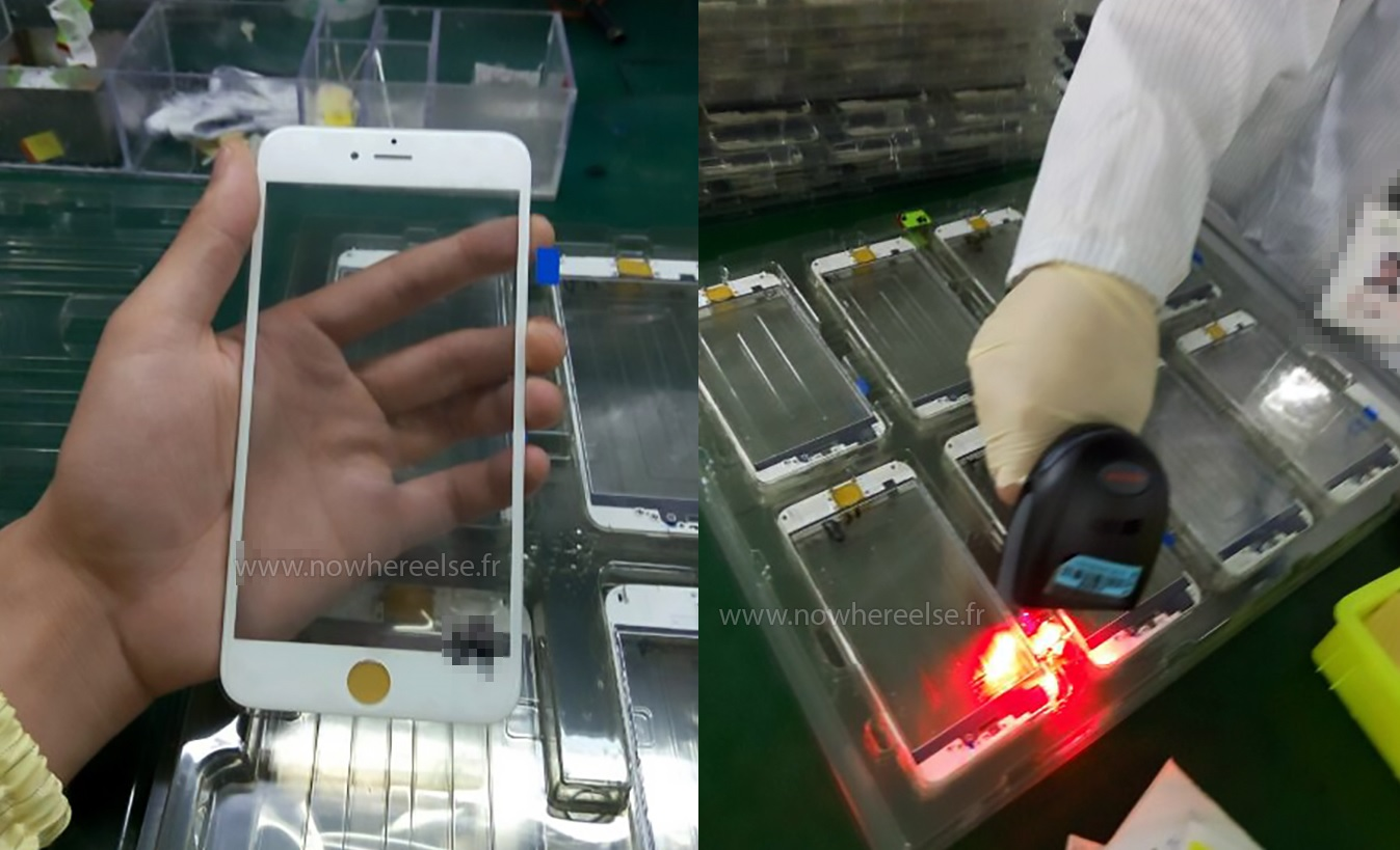 iPhone 6s production factory