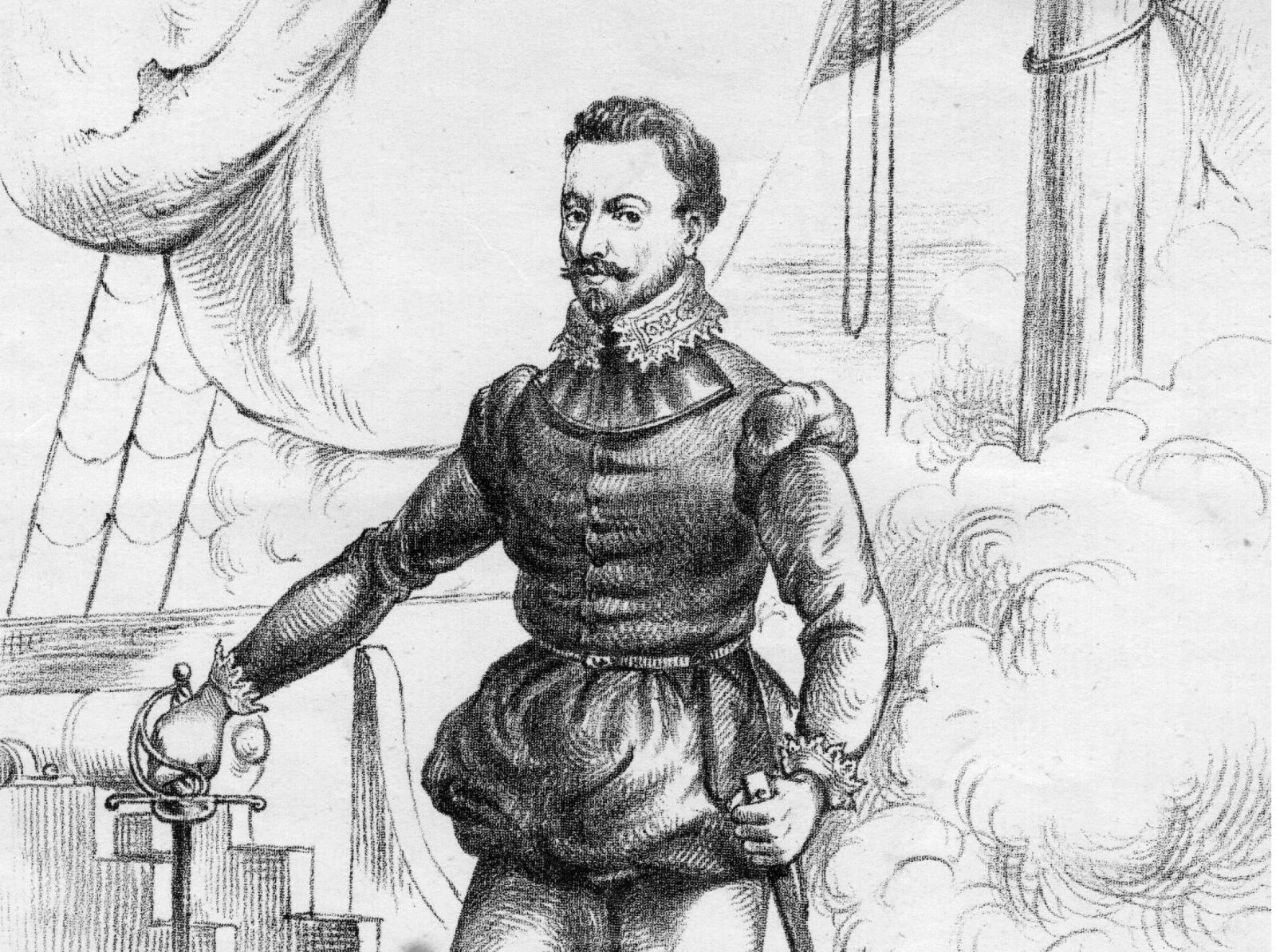 Sir Francis Drake English admiral