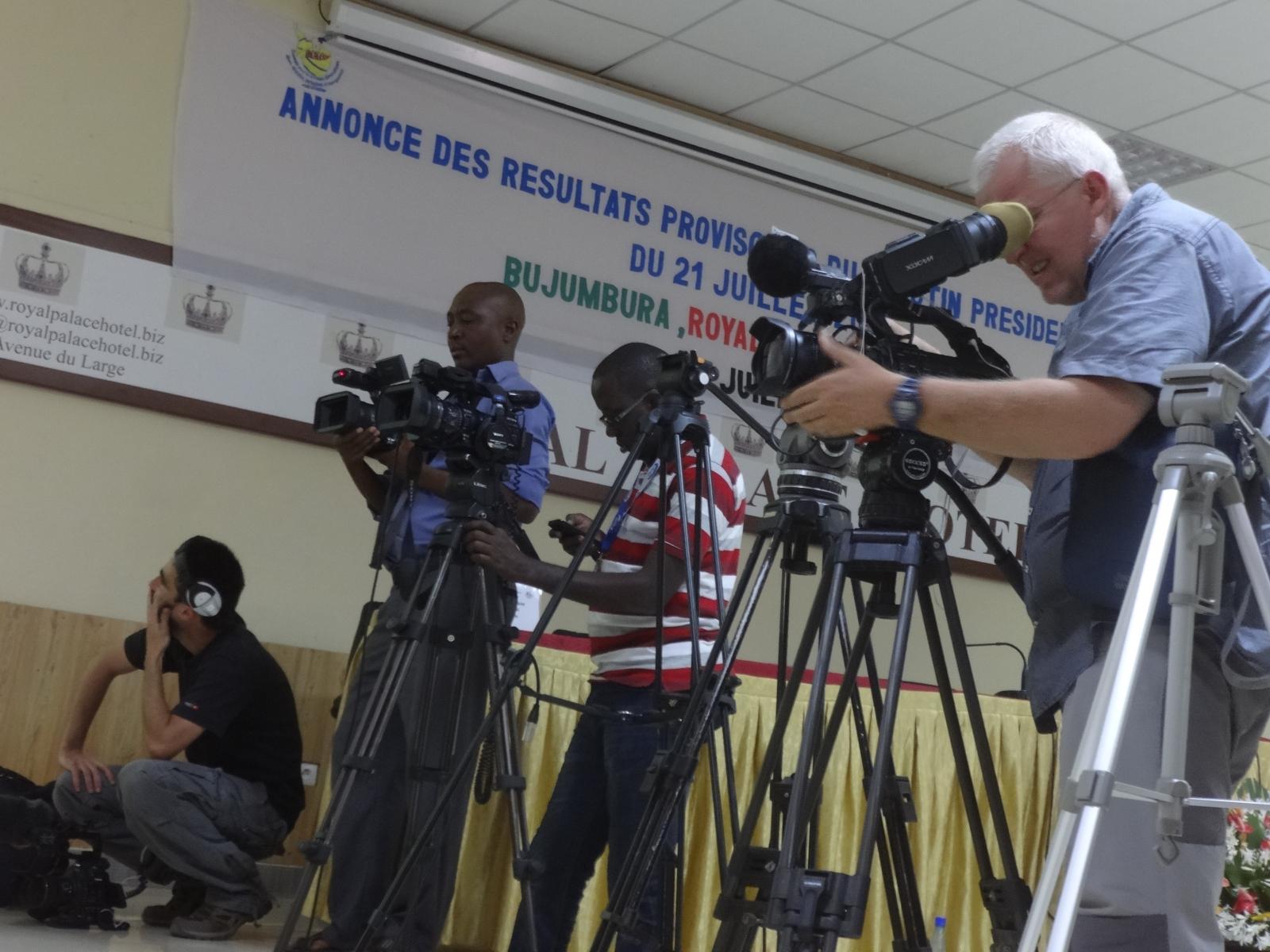 Burundi elections results