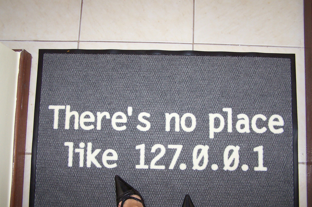 There's no place like 127.0.0.1 IT joke