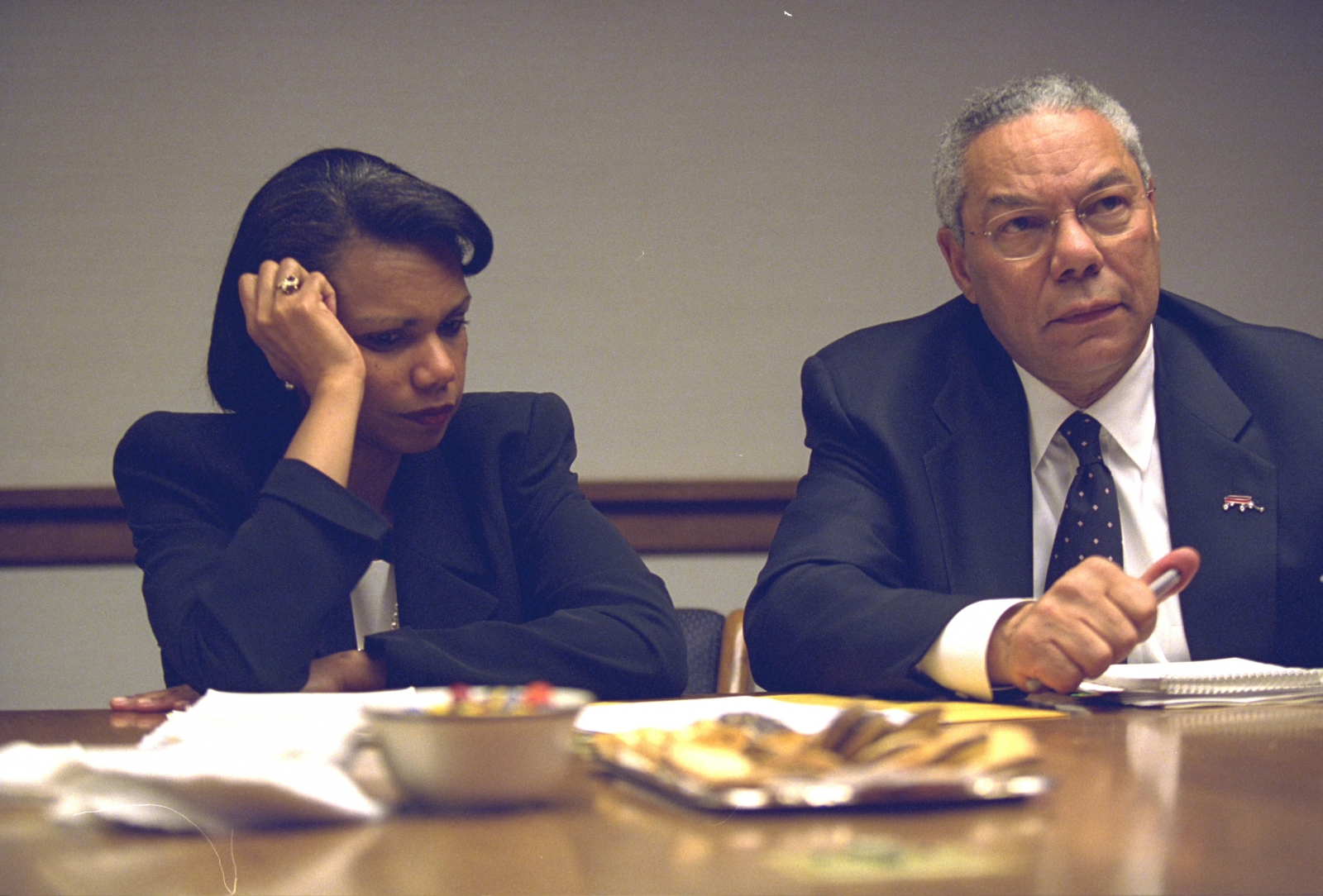 9/11: Condoleezza Rice and Colin Powell