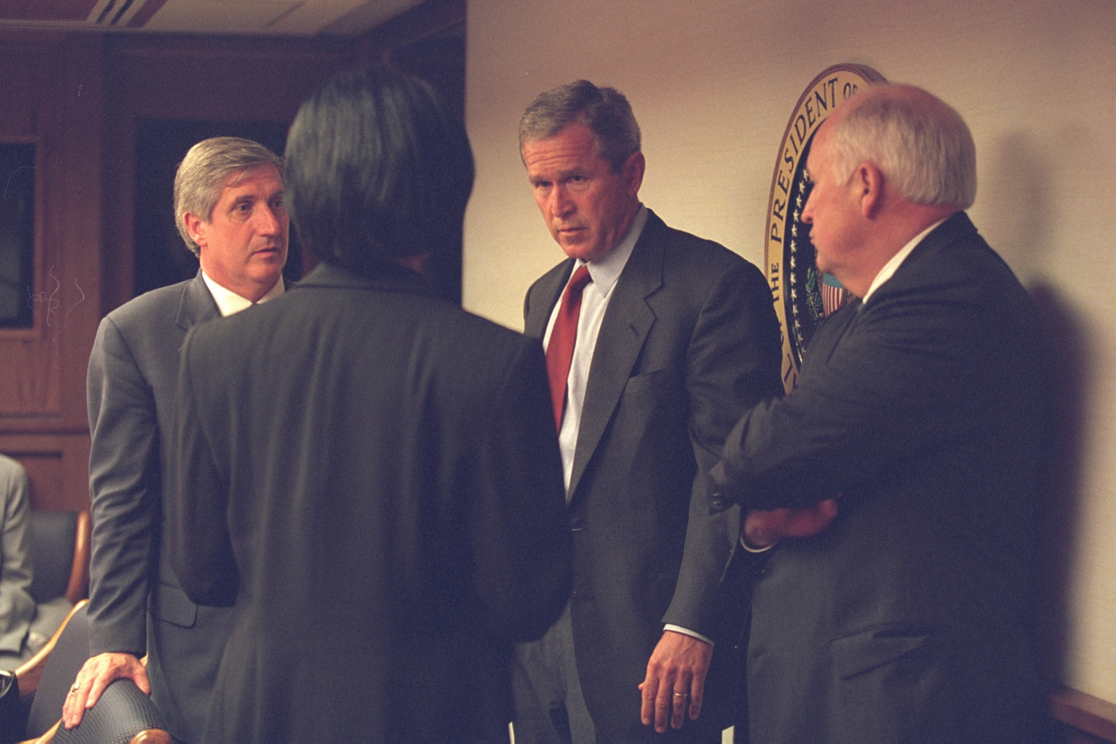 9/11  Bush and aides