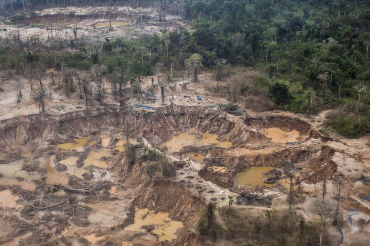 La Pampa destruction