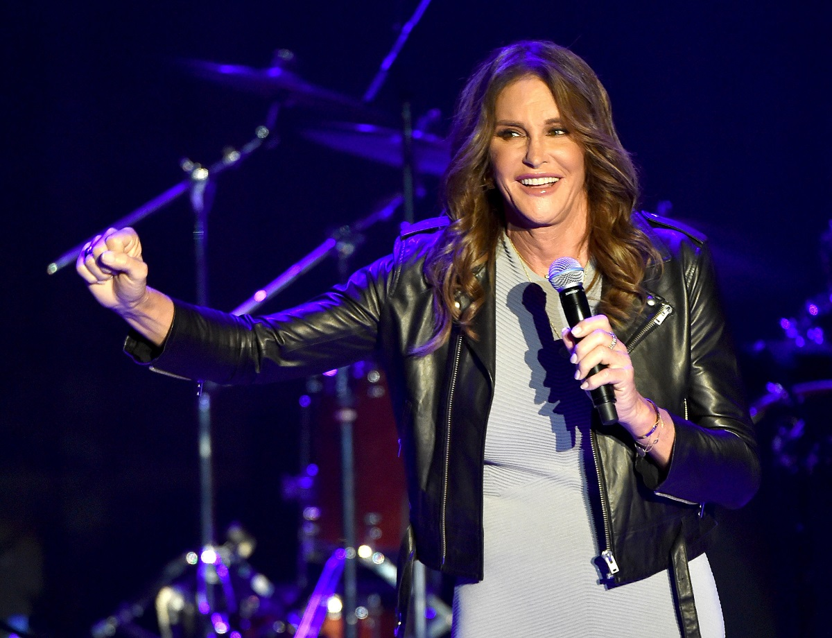 Caitlyn Jenner at Culture Club concert