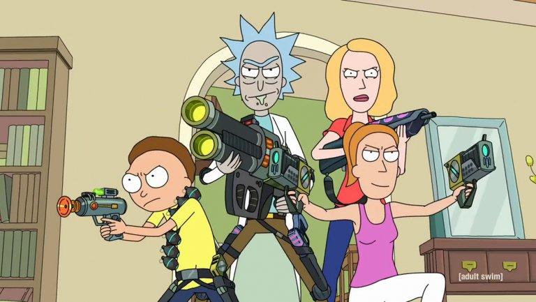 Adult Swim Rick And Morty