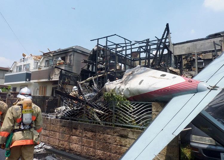 tokyo plane crash
