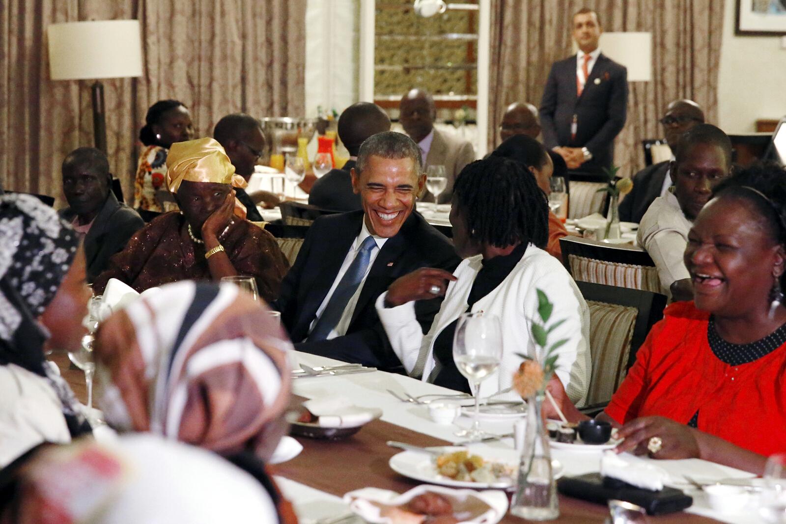 President Barack Obama visits Kenya – his father's homeland