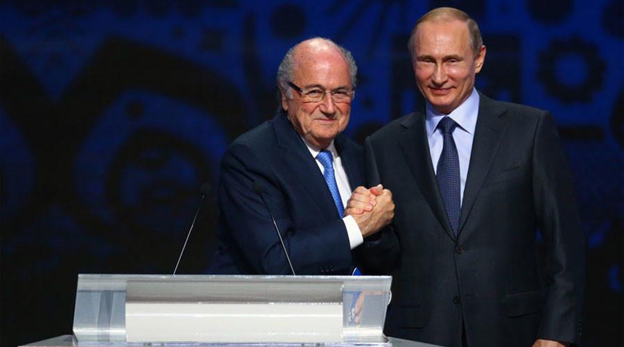 Sepp Blatter in Russia