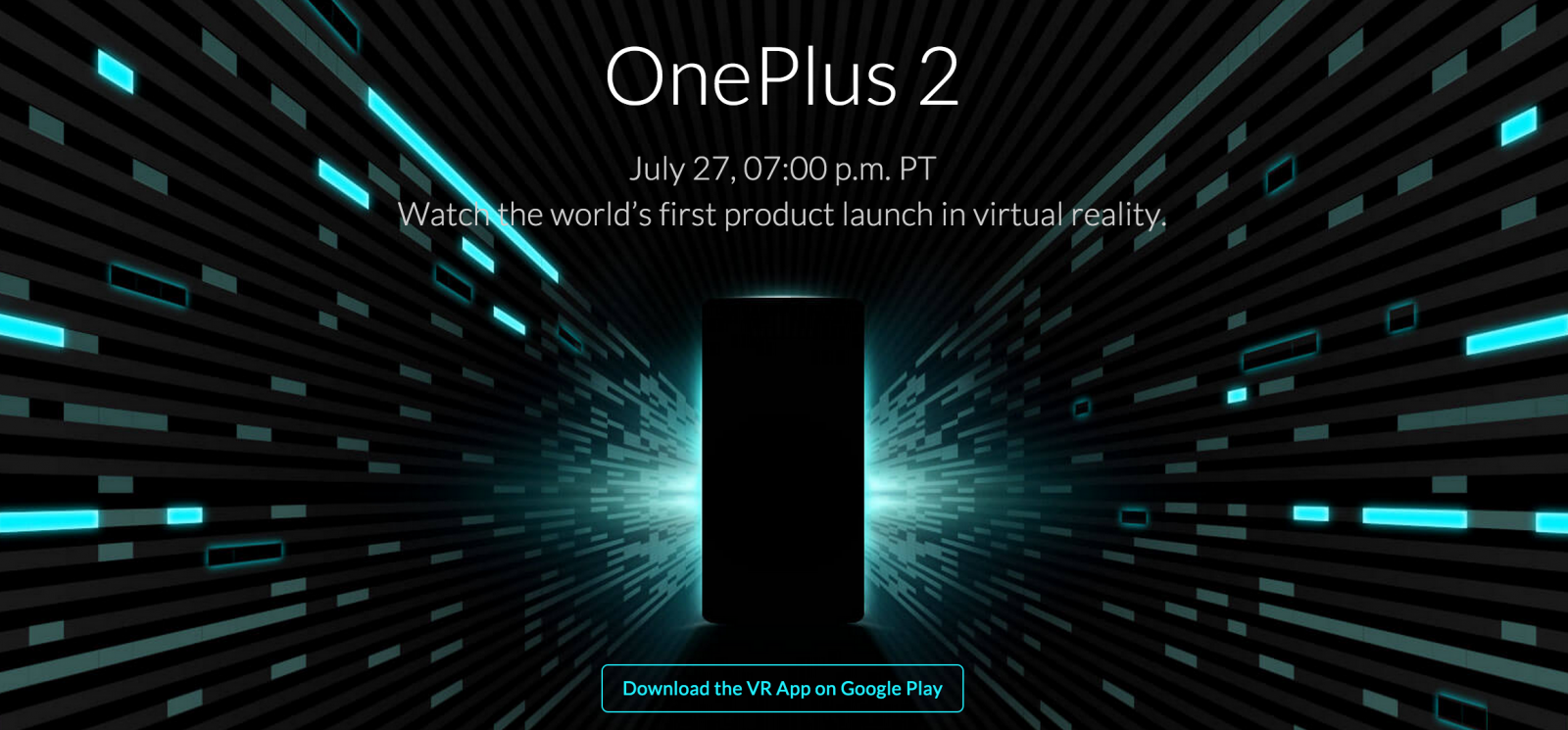 OnePlus 2 launch live stream