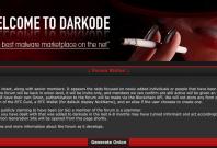 Darkode back online via Tor
