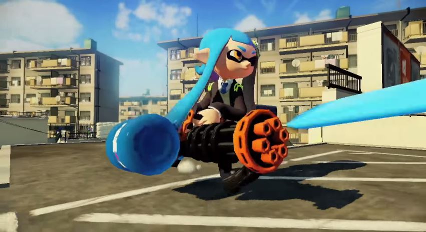 Splatoon Minigun